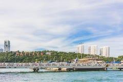 stad pattaya thailand Arkivfoto