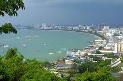 stad pattaya thailand Arkivbilder