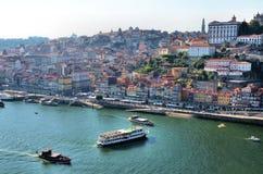 stad porto Arkivbild