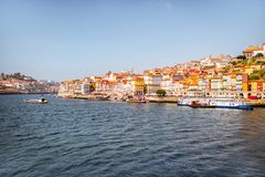 stad porto portugal Arkivfoto