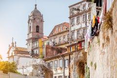 stad porto portugal Royaltyfria Foton