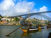 stad porto portugal Royaltyfria Bilder