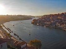 stad porto portugal Arkivbild