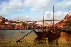 stad porto portugal Arkivfoton