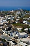 Stad Pyrgos Stock Foto