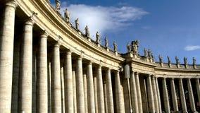 stad rome vatican Arkivfoton