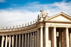 stad rome vatican arkivbild