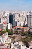 Stad Sao Paulo Royalty-vrije Stock Foto's