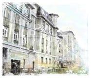 stad scape Royalty-vrije Stock Afbeelding