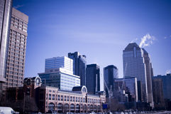 Stad scape Calgary Royalty-vrije Stock Fotografie