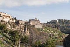 Stad scape in Toledo Royalty-vrije Stock Afbeelding