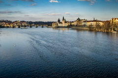 Stad scape van Praag royalty-vrije stock fotografie