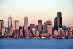stad seattle Royaltyfri Foto