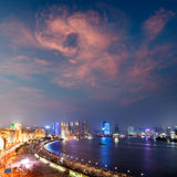 stad shanghai Royaltyfria Foton