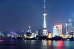 stad shanghai Royaltyfria Bilder