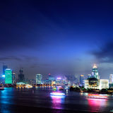 stad shanghai Royaltyfri Fotografi