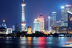 stad shanghai Royaltyfri Bild