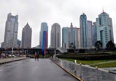 Stad Shanghai, Kina, Asien Arkivbild
