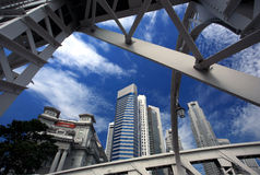 stad singapore Royaltyfri Foto