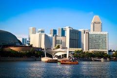 stad singapore Arkivbilder