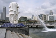 stad singapore Royaltyfria Bilder