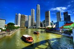 stad singapore Arkivfoto