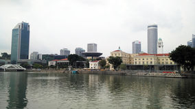 stad singapore arkivfoton