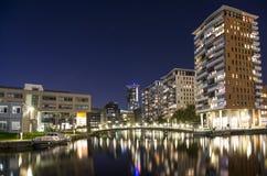 Stad sjö av Haag i Nederländerna arkivbild