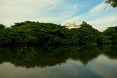 Stad sjöar royaltyfri bild