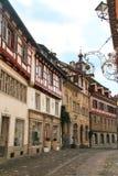 Stad Stein am Rhein, Schweiz Arkivfoton