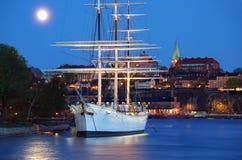 stad stockholm arkivfoton