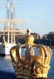 stad stockholm arkivbild