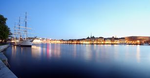 stad stockholm arkivbilder