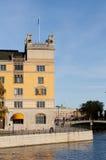 stad stockholm sweden Royaltyfri Fotografi
