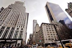 Stad streetlife in New York Stock Foto