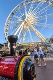 Stad Sydafrika 1 Oktober 2017 f?r pariserhjulstrandudde arkivbilder