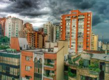 Stad Sydamerika Arkivbilder