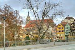 Stad Tübingen royalty-vrije stock fotografie