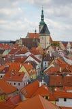 Stad Tabor stock foto