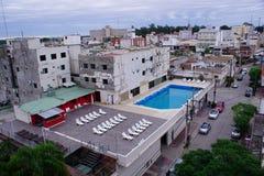 Stad Termas de Rio Hondo fotografering för bildbyråer