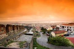 stad thessaloniki Royaltyfri Foto