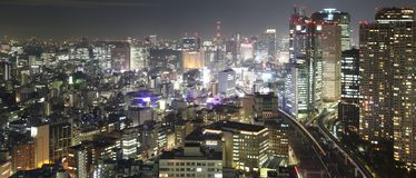 stad tokyo Fotografering för Bildbyråer