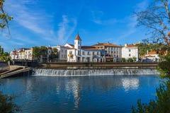 Stad Tomar - Portugal arkivbild