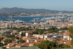 Stad Toulon Stock Foto