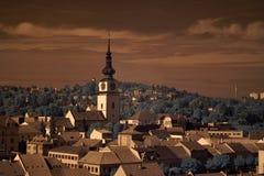 Stad Trebic Stock Afbeelding