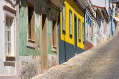 stad trevliga gammala portugal Arkivbild