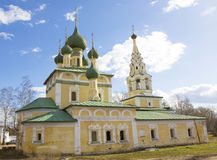 Stad Uglich, Rusland Royalty-vrije Stock Afbeelding