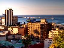 stad valparaiso Arkivbild