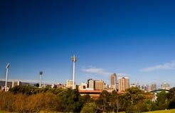 Stad van Adelaide Stock Foto