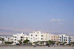 Stad van Aqaba, Jordanië Stock Afbeeldingen